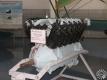 Авиадвигатель М-17 в экспозиции Центрального музея Военно-воздушных сил Российской Федерации в п. Монино.